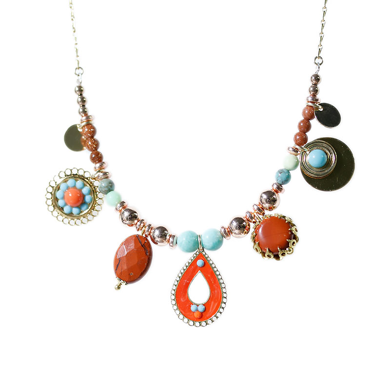 Collier Email Corail